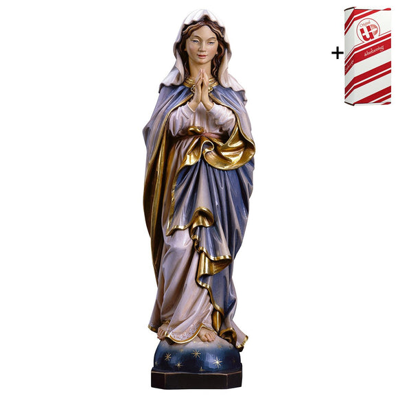 Blessed Virgin praying + Gift Box