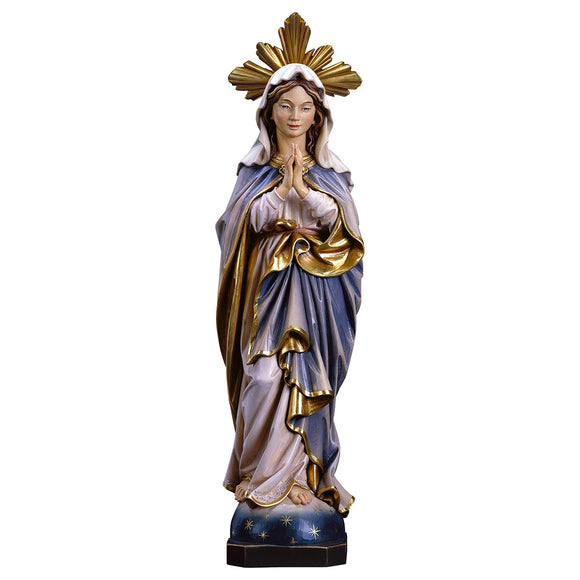 Blessed Virgin praying w. Aura