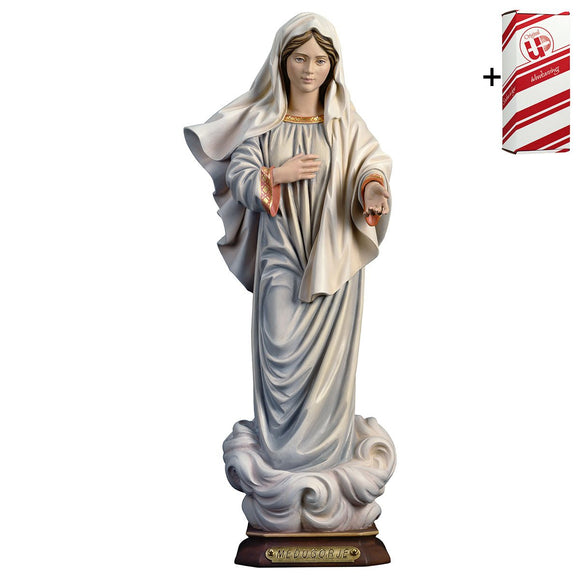 Lady of Medjugorje w.out church + Gift Box