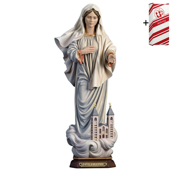 Queen of Peace w. church + Gift Box