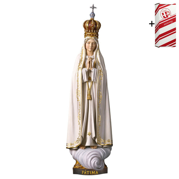 Lady of Fatima Capelinha w. crown + Gift Box