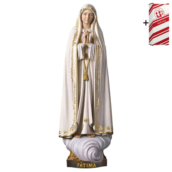 Lady of Fatima Capelinha w.out crown + Gift Box