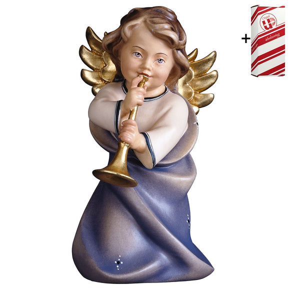 Heart Angel w. trumpet + Gift Box