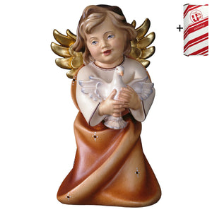 Heart Angel w. dove + Gift Box