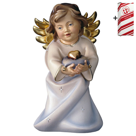 Heart Angel w. heart + Gift Box