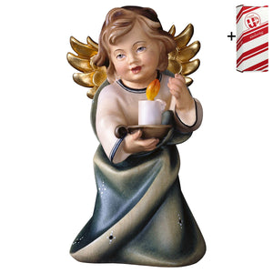 Heart Angel w. candle + Gift Box