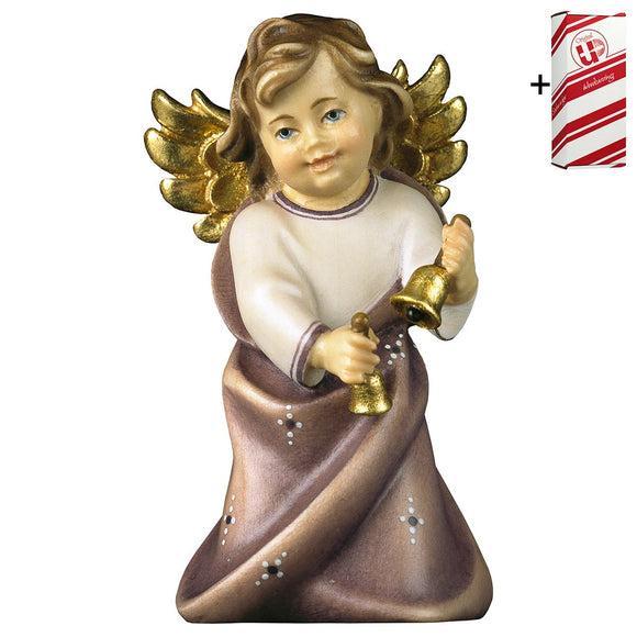 Heart Angel w. bells + Gift Box