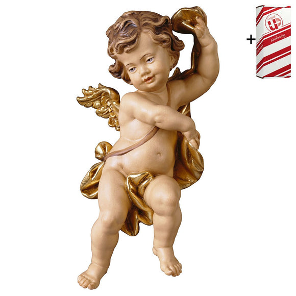 Cherub w. ribbon + Gift Box
