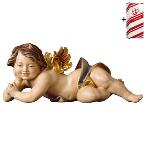 Cherub lying right side + Gift Box