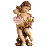 Cherub cupid on pedestal