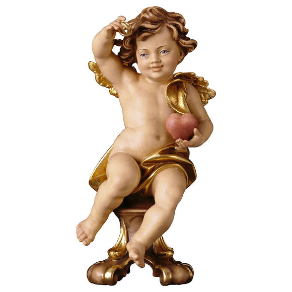 Wedding cherub on pedestal