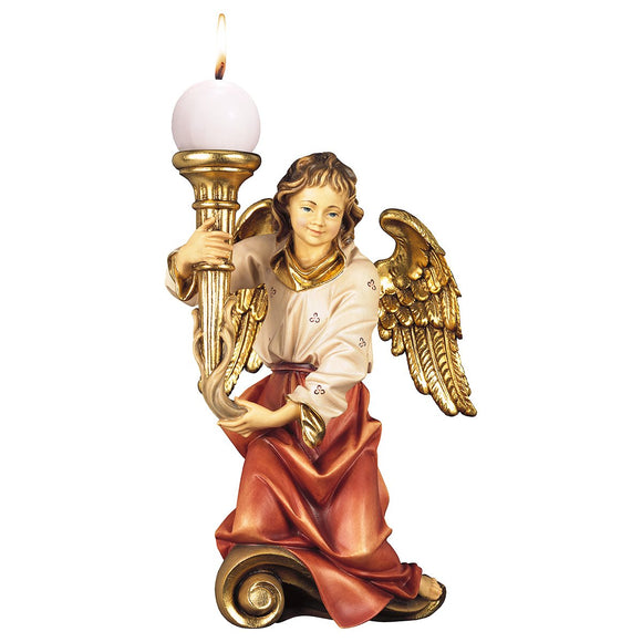 Chorus angel w. candle left side