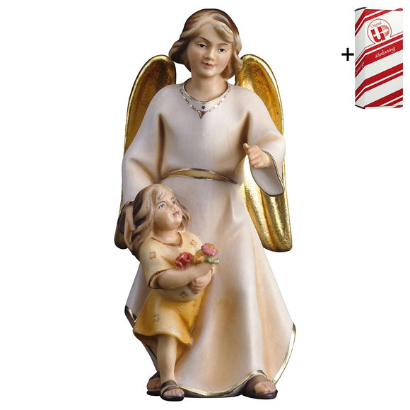 Guardian angel Modern w. girl + Gift Box