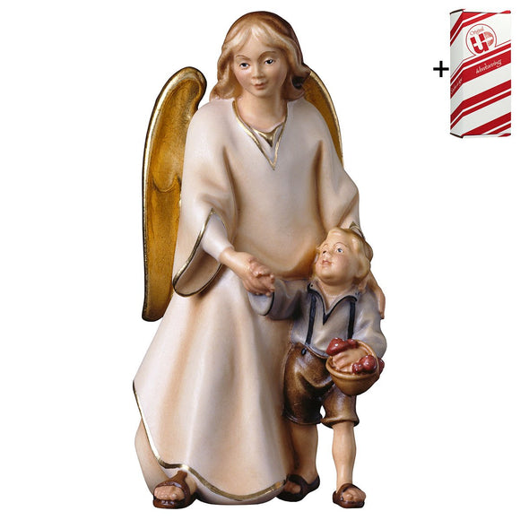 Guardian angel Modern w. boy + Gift Box
