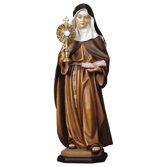 St. Clare of Assisi w. monstrance
