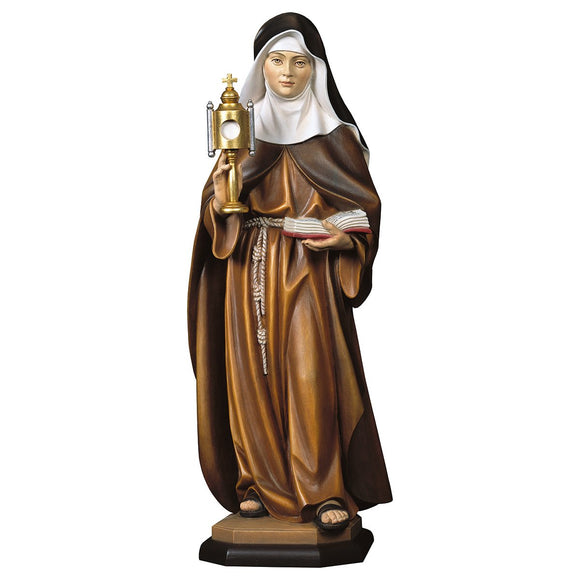 St. Clare of Assisi w. ciborium