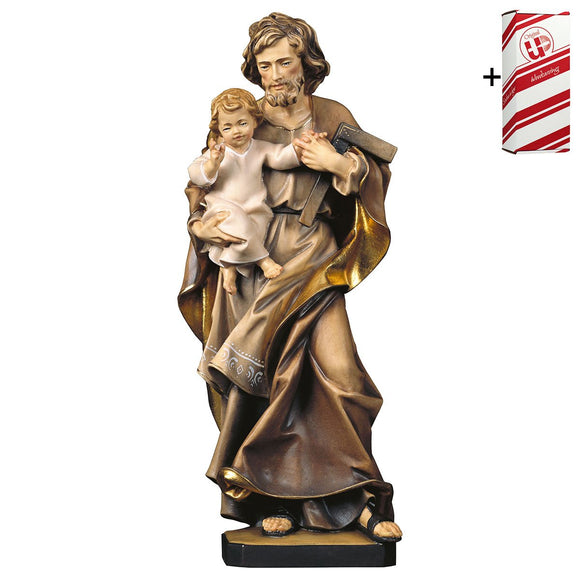 St. Joseph w. child + Gift Box