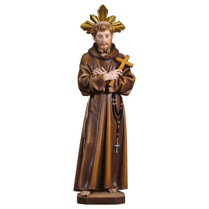 St. Francis of Assisi w. cross w. Aura