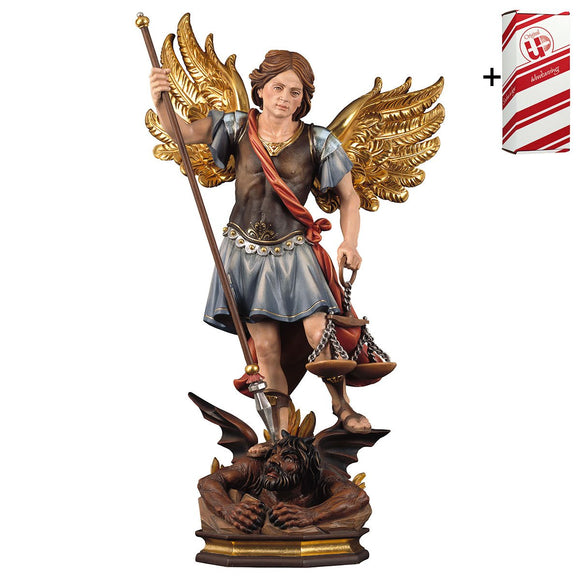 St. Michael Archangel w. scales + Gift Box