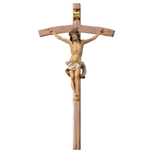 Crucifix Nazarean, Cross bent