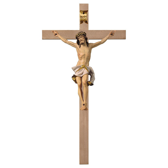 Crucifix Nazarean, Cross plain