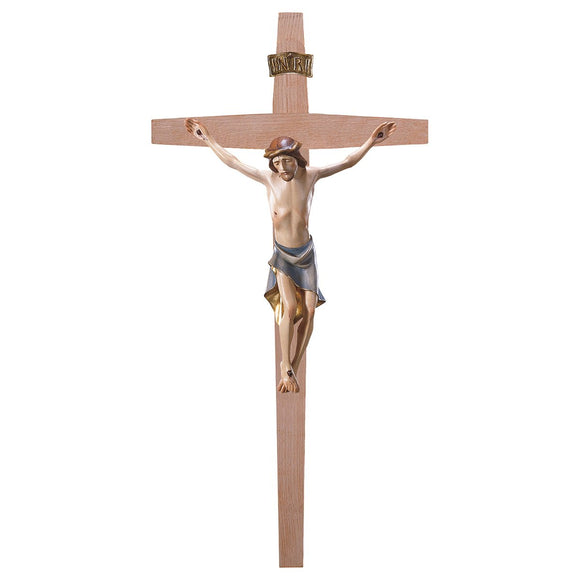 Crucifix Modern, Cross straight