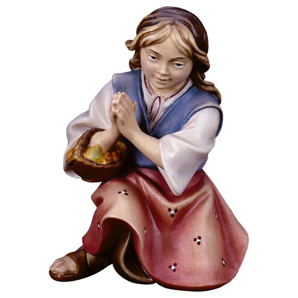 UL Kneeling praying girl
