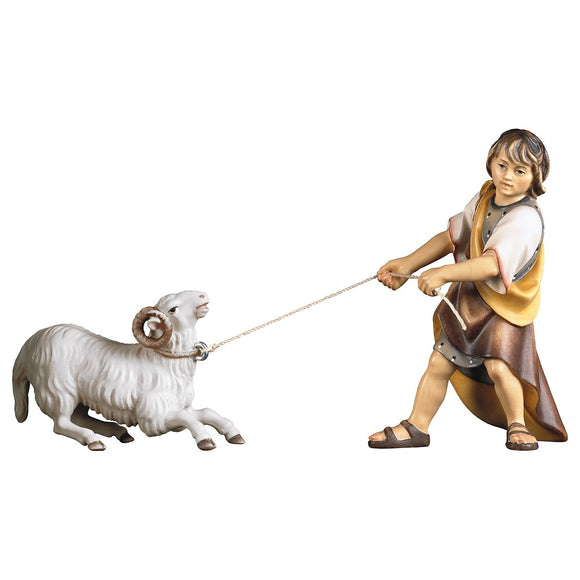 UL Pulling child w. kneeling ram