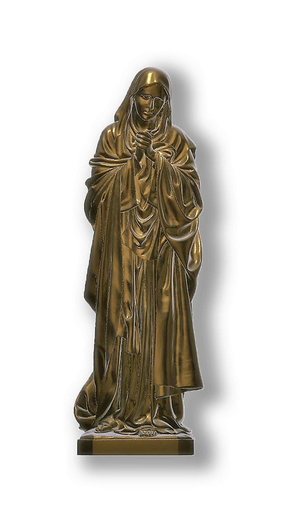 Lady of Sorrows 02, Bronze