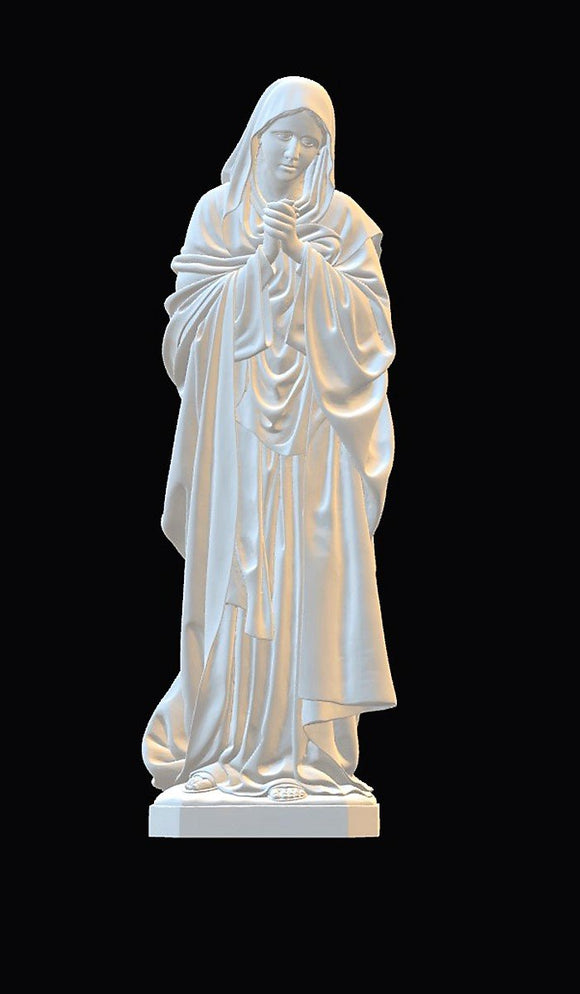 Lady of Sorrows 02, Marble