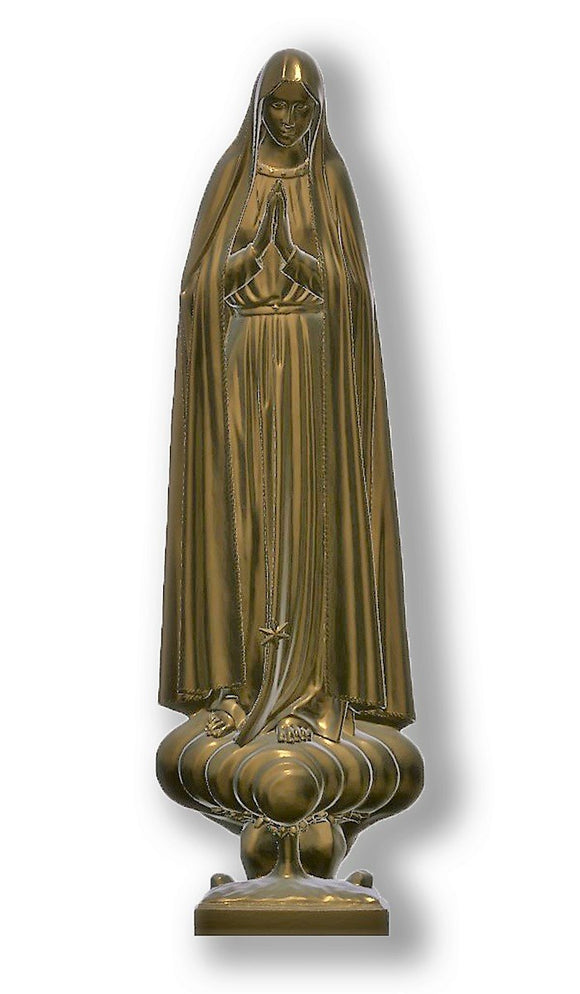 Lady of Fatima Pilgrim 02, Bronze