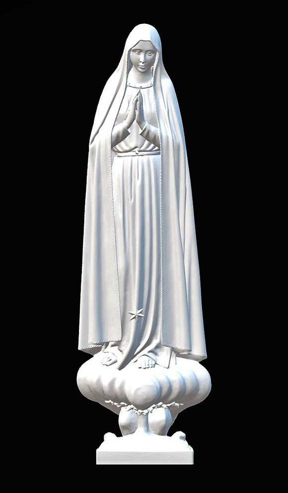Lady of Fatima Pilgrim 02, Marble