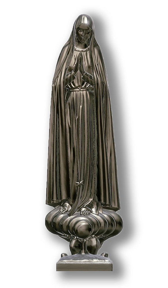 Lady of Fatima Pilgrim 02, Silver