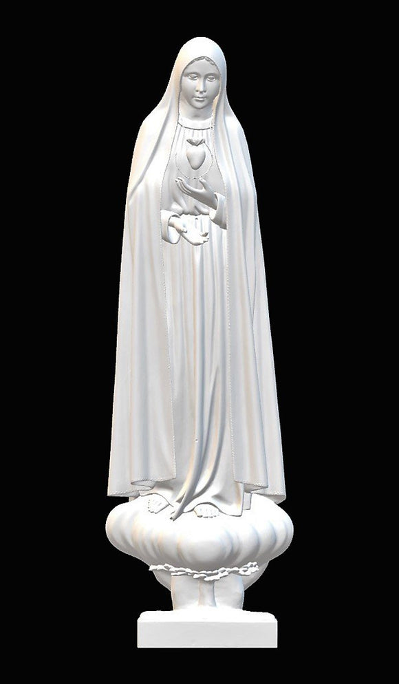 Lady of Fatima Pilgrim Int. Immaculate Heart, Marble
