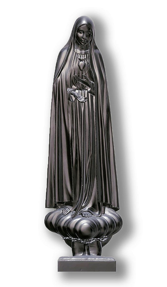 Lady of Fatima Pilgrim Int Immaculate Heart, Silver