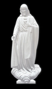 Sacred Heart of Jesus 02, Marble
