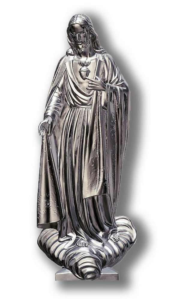 Sacred Heart of Jesus 02, Silver