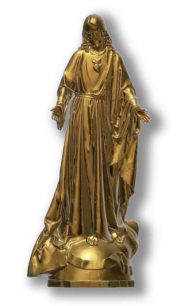 Sacred Heart of Jesus 04, Bronze