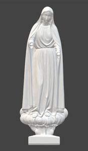 Immaculate Heart of Mary 01, Marble