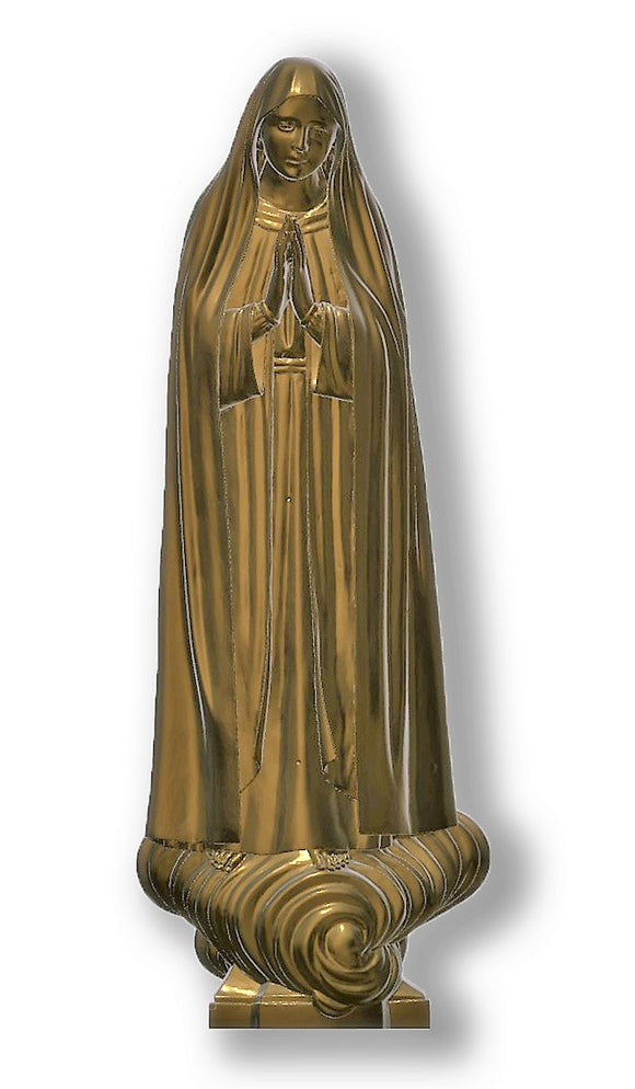 Lady of Fatima Capelinha 01, Bronze