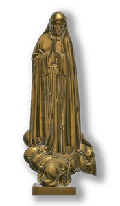 Lady of Fatima Ponta 01, Bronze
