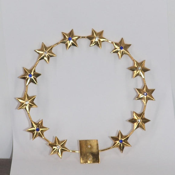 Gold Halo with 12 Stars