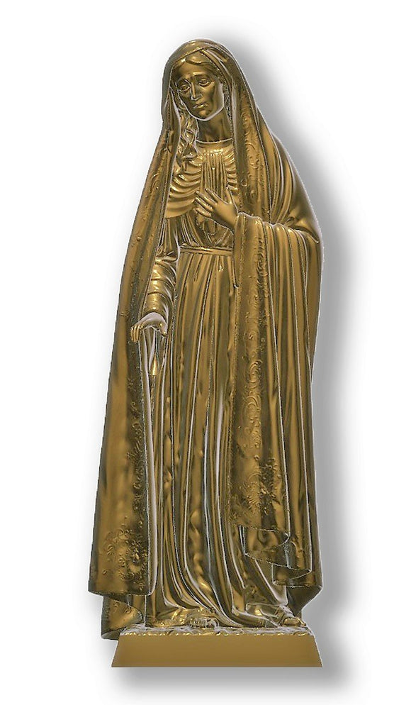 Lady of Sorrows 01, Bronze