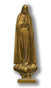Lady of Fatima Pilgrim International 01, Bronze
