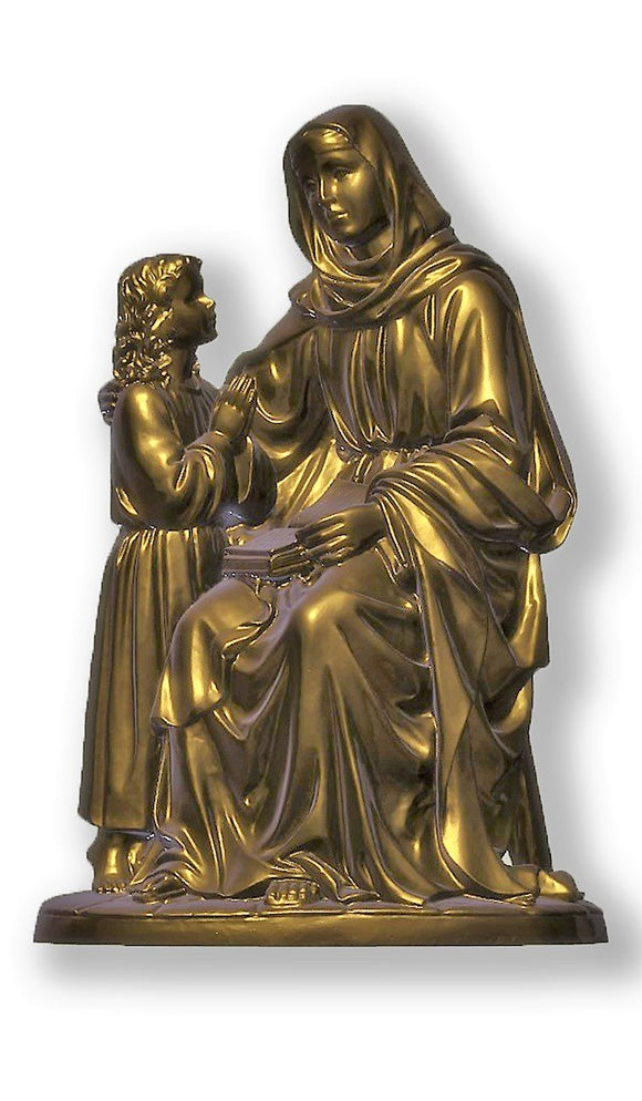 Saint Anne with Child, Bronze