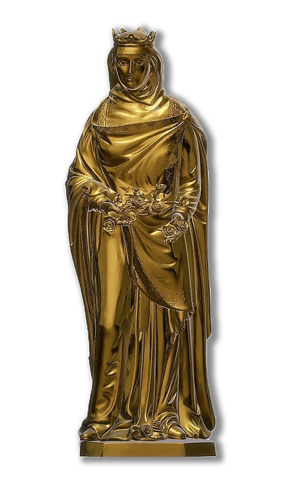 Queen Saint Isabel, Bronze