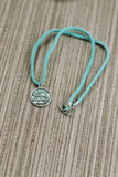 L I B R A : Astrology Charm Chokers // in Turquoise