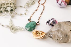 Ruby Fuchsite & Copper choker