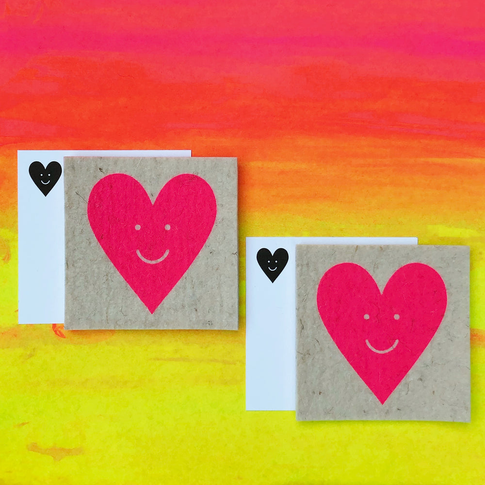NEW! Happy Heart Twin Pack - LOVE