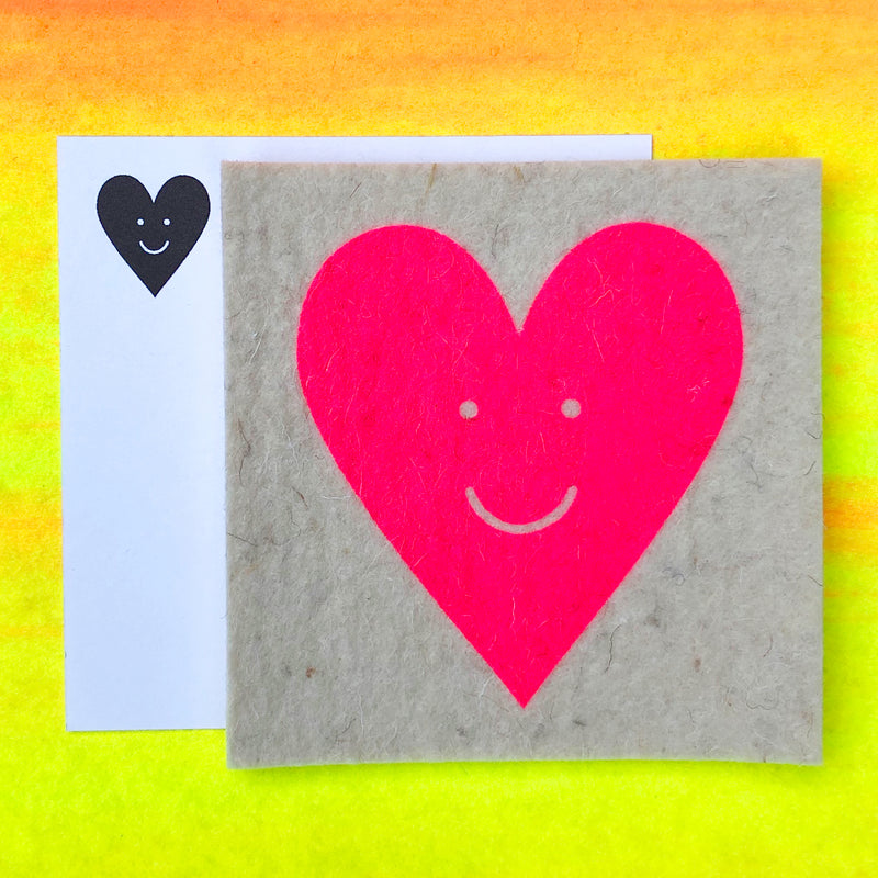 NEW! Happy Heart - LOVE